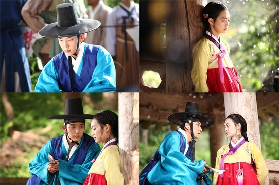 """Arang and the Magistrate"" Lee Jun Ki-Shin Min Ah Couple Teaser Pictures Revealed 'Curiosity Overload'key=>0 count1"