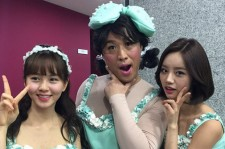 jung joon ha girl's day with hyeri and kim so hyun