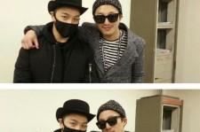 taeyang with dong hyun bae
