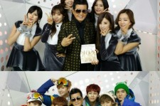 tae jin ah with a pink and btob
