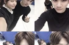 namjoo picture with hyuk 21st birthday