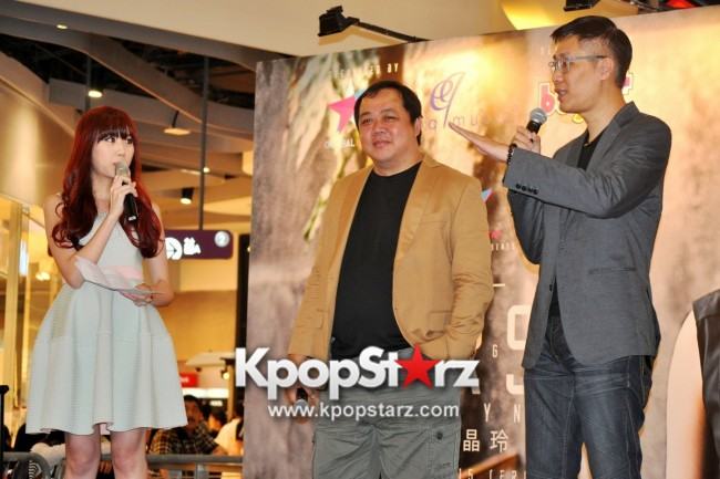"Ferlyn G Launches Her ""First"" Solo Chinese EP In Singapore And Successfully Holds Fansign [PHOTOS] key=>1 count19"