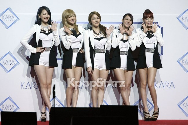 KARA Finally Comes Back with 'Pandora' Revealing Feminine Attraction at Press Conferencekey=>0 count1