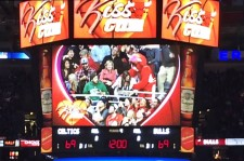 Basketball Mascot Stealing A Celtics Fan's Girlfriend During Kiss Cam Is The Funniest You'll See Today