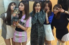 EXID wins on the January 8th episode of 'M! Countdown'