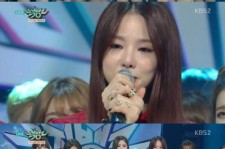 exid 1st place on 'music bank'