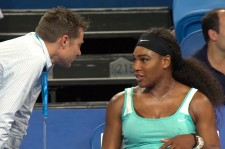 Serena Williams Orders An Espresso... In The Middle Of A Match!