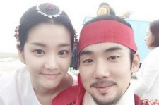 lee yoo bi yoo yeon seok selfie
