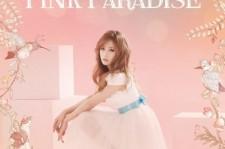 a pink individual poster chorong