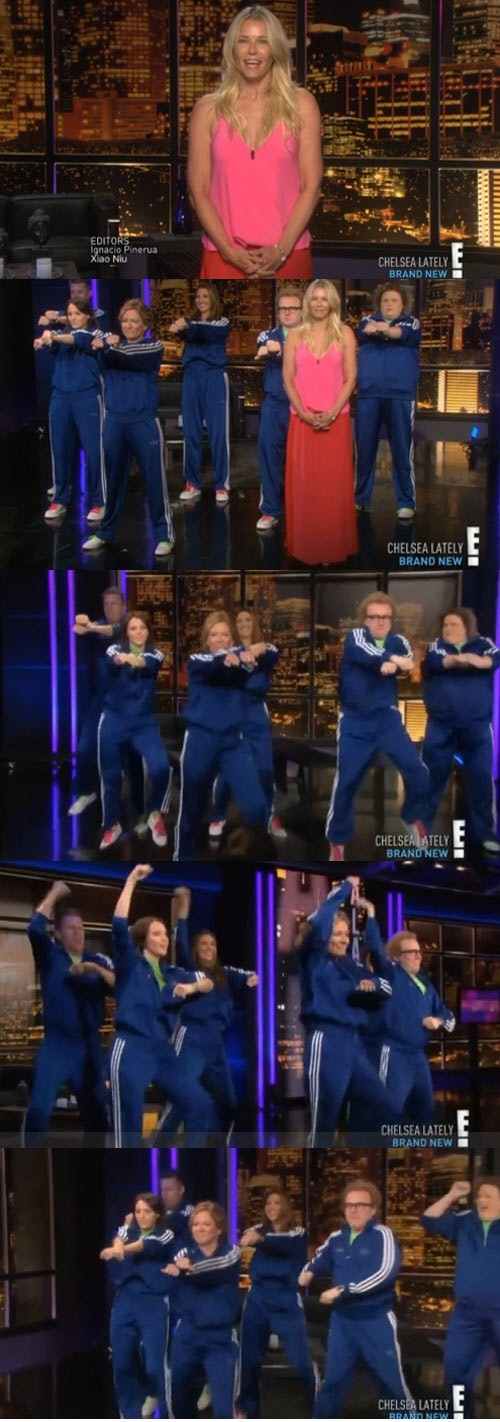 """Psy Appears on """"Chelsea Lately"""""""