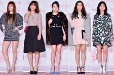 Kim Hyun Jung, Park Eun Ji, Seo Woo, Kang Ye Won and Yoon Seung Ah at Benefit Roller Lash   Mascara Launching Event
