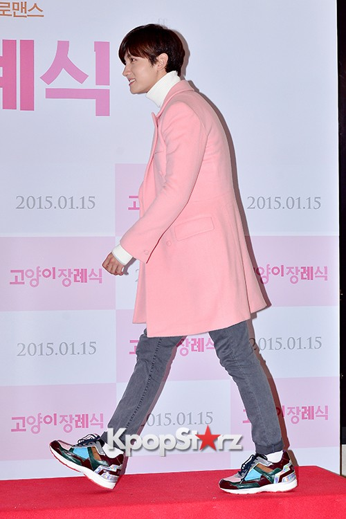 TVXQ's Max Changmin Attends a VIP Premiere of Upcoming Film 'Cat Funeral' key=>3 count16
