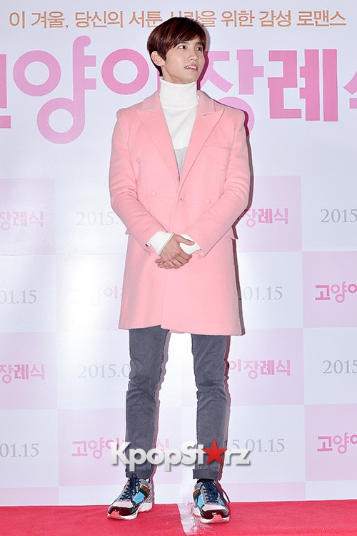 TVXQ's Max Changmin Attends a VIP Premiere of Upcoming Film 'Cat Funeral' key=>7 count16