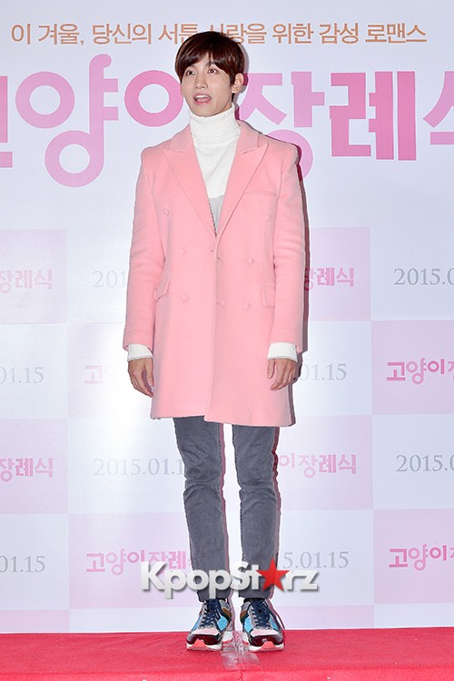 TVXQ's Max Changmin Attends a VIP Premiere of Upcoming Film 'Cat Funeral' key=>10 count16