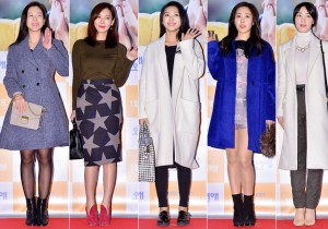 Kyung Soo Jin, Kim So Yeon, Borah, Choi Hee and Hyoyoung Attend a VIP Premiere of Upcoming Film 'Love Today'