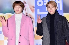 Infinite's Sungjong and Block B's Zico Attend a VIP Premiere of Upcoming Film 'Love Today'