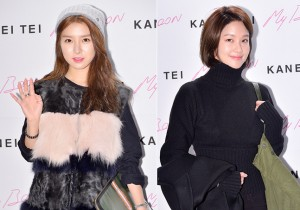 Kim So Eun and Hwang So Hee at KANEI TEI Launching Event