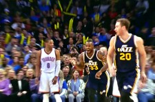 Trevor Booker Scores The Most Unbelievable Shot Of The Year