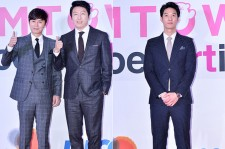 Kim Min Jong, Kim Soo Ro and Kim Ian at SMTOWN COEX Artium Grand Opening Ceremony