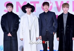 SHINee at SMTOWN COEX Artium Grand Opening Ceremony