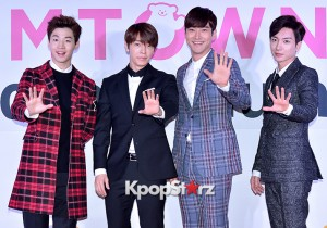 Super Junior at SMTOWN COEX Artium Grand Opening Ceremony