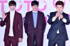 Song Jae Rim, Jang Dong Gun and Jun Hyun Moo at SMTOWN COEX Artium Grand Opening Ceremony