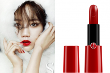 Girl's Day Hyeri Giorgio Armani For Sure December 2014 Issue