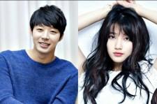 Park Yoochun and Suzy Bae