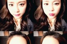 yewon cute selfie