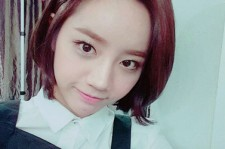 girls day hyeri filming for commercial