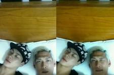 park joon hyung nap time with jackson