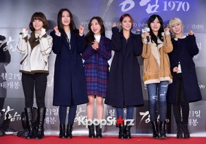 AOA Attends a VIP Premiere of Upcoming Film 'Gangnam 1970'