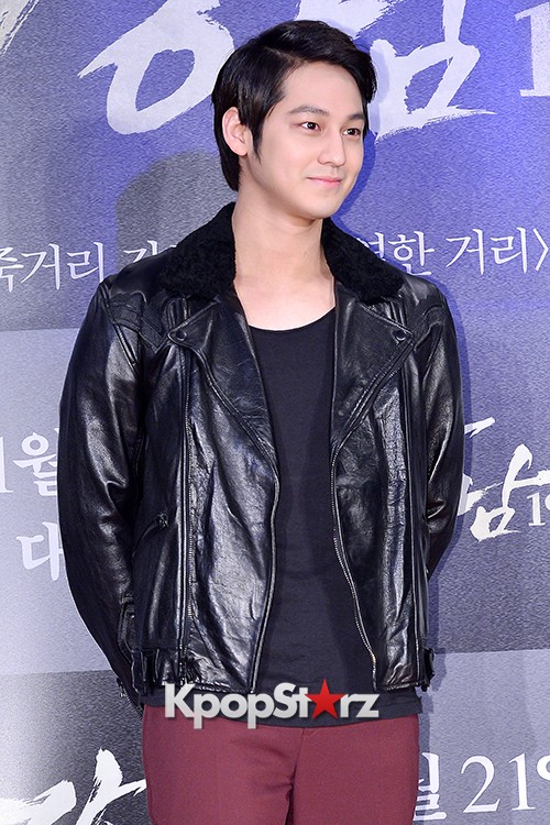 Kim Bum, Ahn Jae Hyun, Jung Il Woo and Choi Jin Hyuk Attend a VIP Premiere of Upcoming Film 'Gangnam 1970' key=>3 count43