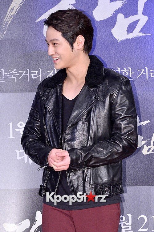 Kim Bum, Ahn Jae Hyun, Jung Il Woo and Choi Jin Hyuk Attend a VIP Premiere of Upcoming Film 'Gangnam 1970' key=>5 count43