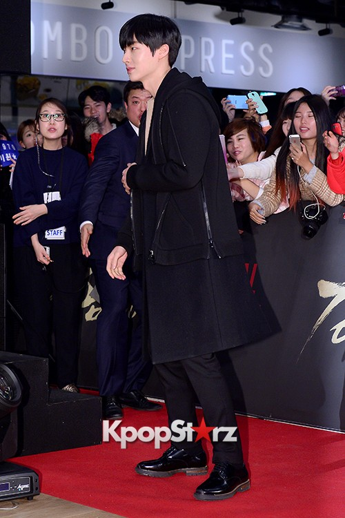 Kim Bum, Ahn Jae Hyun, Jung Il Woo and Choi Jin Hyuk Attend a VIP Premiere of Upcoming Film 'Gangnam 1970' key=>12 count43
