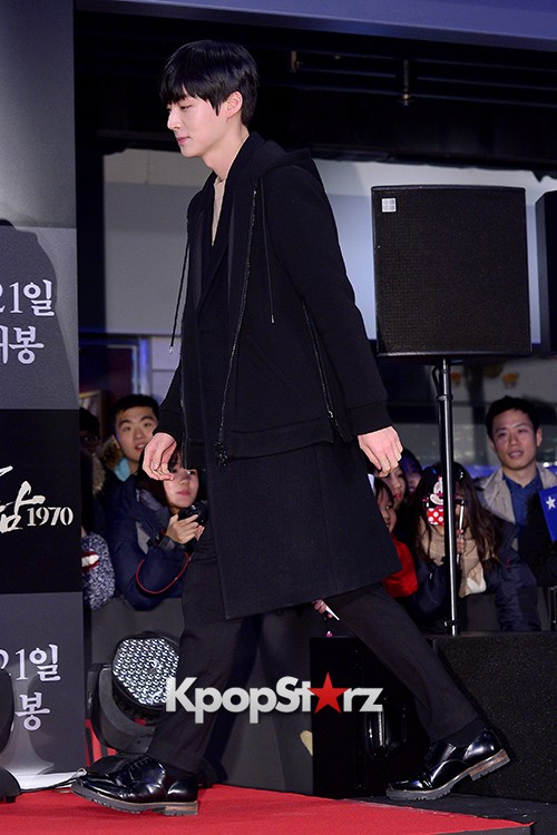 Kim Bum, Ahn Jae Hyun, Jung Il Woo and Choi Jin Hyuk Attend a VIP Premiere of Upcoming Film 'Gangnam 1970' key=>13 count43