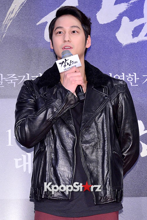 Kim Bum, Ahn Jae Hyun, Jung Il Woo and Choi Jin Hyuk Attend a VIP Premiere of Upcoming Film 'Gangnam 1970' key=>7 count43