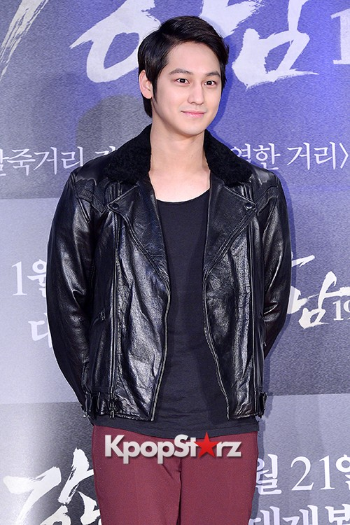 Kim Bum, Ahn Jae Hyun, Jung Il Woo and Choi Jin Hyuk Attend a VIP Premiere of Upcoming Film 'Gangnam 1970' key=>9 count43