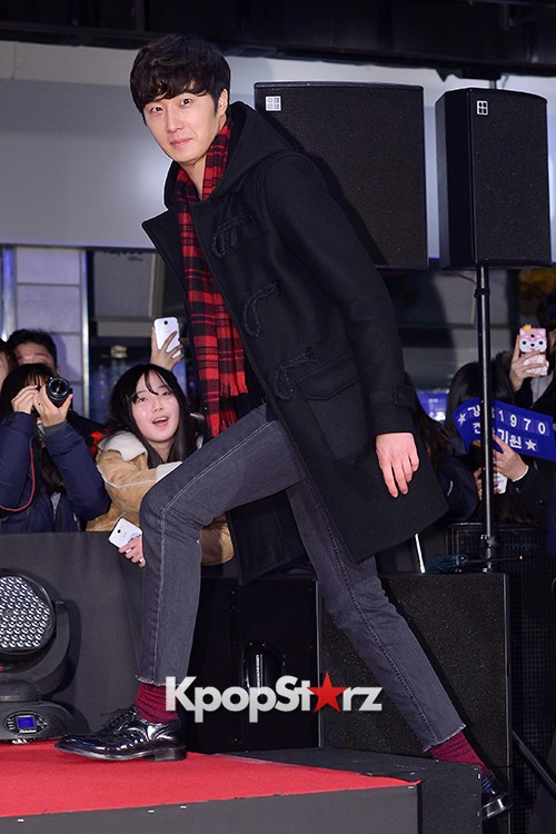 Kim Bum, Ahn Jae Hyun, Jung Il Woo and Choi Jin Hyuk Attend a VIP Premiere of Upcoming Film 'Gangnam 1970' key=>20 count43