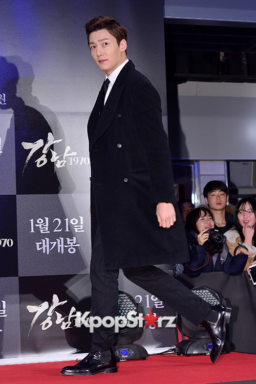 Kim Bum, Ahn Jae Hyun, Jung Il Woo and Choi Jin Hyuk Attend a VIP Premiere of Upcoming Film 'Gangnam 1970' key=>30 count43