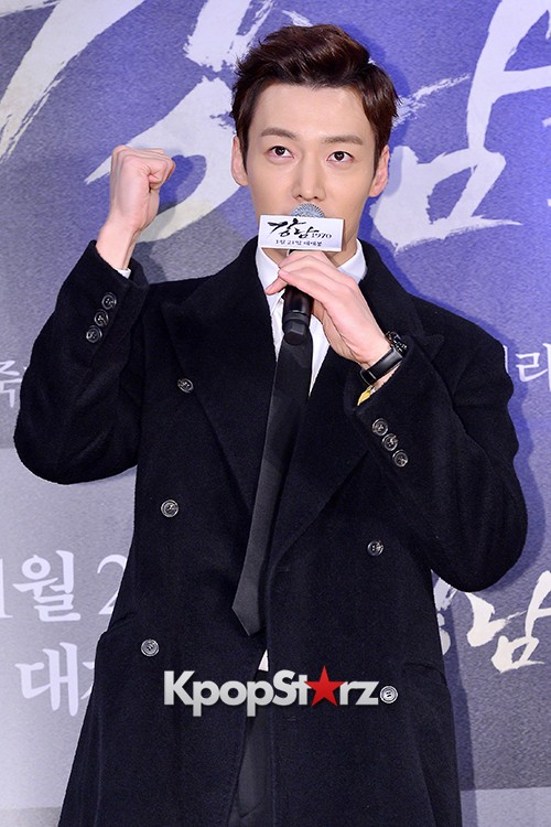 Kim Bum, Ahn Jae Hyun, Jung Il Woo and Choi Jin Hyuk Attend a VIP Premiere of Upcoming Film 'Gangnam 1970' key=>37 count43