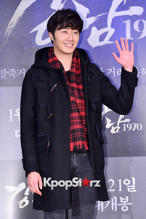 Kim Bum, Ahn Jae Hyun, Jung Il Woo and Choi Jin Hyuk Attend a VIP Premiere of Upcoming Film 'Gangnam 1970' key=>25 count43