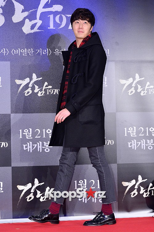 Kim Bum, Ahn Jae Hyun, Jung Il Woo and Choi Jin Hyuk Attend a VIP Premiere of Upcoming Film 'Gangnam 1970' key=>40 count43