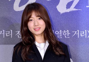 Park Shin Hye Attends a VIP Premiere of Upcoming Film 'Gangnam 1970'