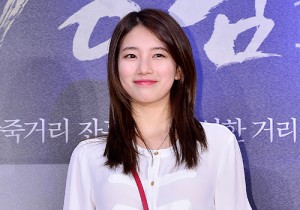 Miss A's Suzy Attends a VIP Premiere of Upcoming Film 'Gangnam 1970'