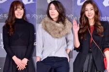 Lee Yeon Doo, Lee Ji Ah and Gina Attend a VIP Premiere of Upcoming Film 'Gangnam 1970'
