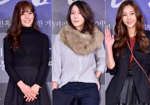 Lee Yeon Doo, Lee Ji Ah and Gina Attend a VIP Premiere of Upcoming Film 'Gangnam 1970'