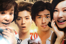Luhan and Yang Zi Shan signed a poster for the '20 Once Again' giveaway.