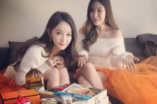 davichi lunch from fans
