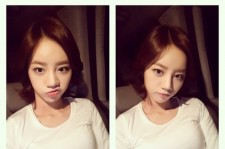 girls day hyeri car selfie